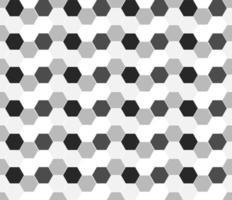 monochroom zeshoek geometrische naadloos