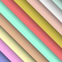 pastel gradiënt strepen vector