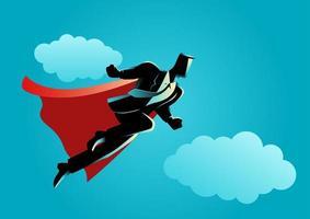zakenman silhouet super werknemer