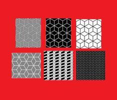 Eenvoudige B & W-patronen 7