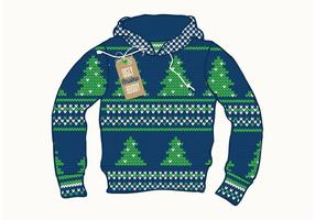Gratis Ugly Christmas Sweater Vector