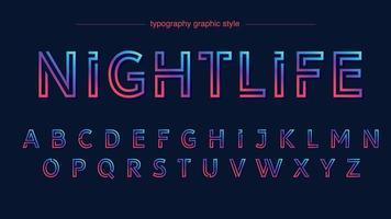 kleurrijk neon abstract teksteffect vector