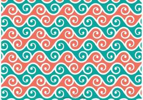 Swirly Patroon Vector