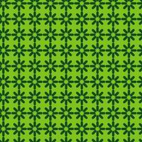 heldergroen geometrisch sterpatroon