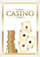 retro casino achtergrond
