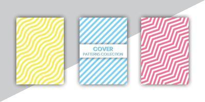 gemengde lijn patroon cover set
