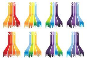 2015 Rainbow Icons