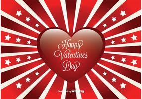 Valentijnskaartkaart vector