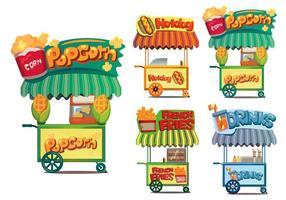 Voedsel Cart Vectoren
