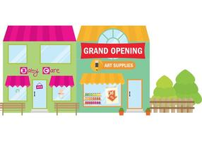 Grand Opening Stores vector