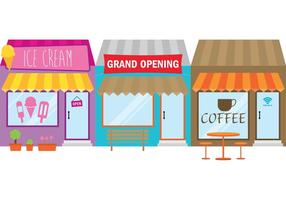 Grand Opening Store Sign vector