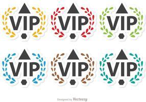 Laurel VIP Icon Vectors