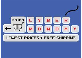 Cyber Maandag Vector