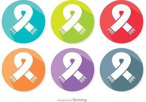 Nek Scarf Icon Vectors