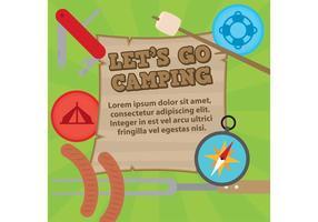 Laten we gaan kamperen!