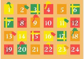 Cadeau advent kalender