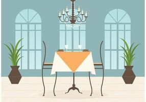 Gratis Restaurant Interieur Vector
