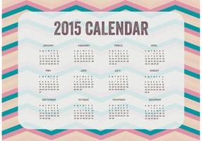 2015 Kalender Vector