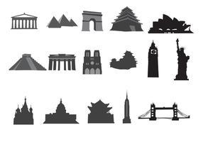 Gratis Vector Landmarks