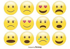 Leuke Smiley / Emoticon Set vector