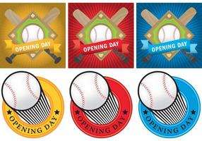 Baseball Opening Day Pack vector