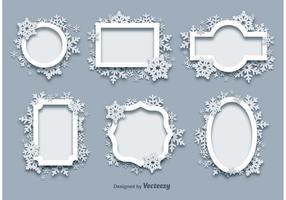 Winter Sneeuw Frames