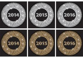 Zilveren Glitter Years