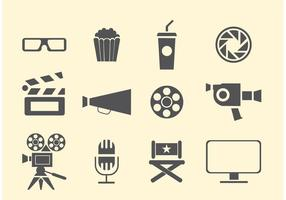 Film- en bioscoopvectoren vector