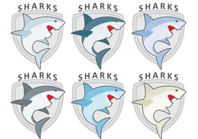 Shark Logo Vectoren