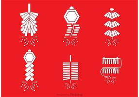 Chinese Vuurwerk Vectoren