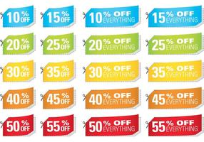 Cut Coupon Vectors