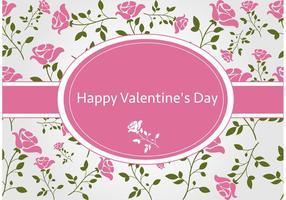 Valentijnsdag Vector Achtergrond