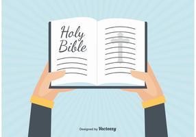 Open Bijbel Illustratie vector