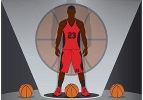 Basketbal Achtergrond Vector