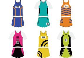 Sport Jersey Vector Pack