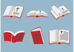 Open bijbel vector kunst