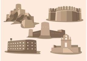 Eenvoudige Fort Vectors