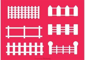 Set van hekvectoren vector