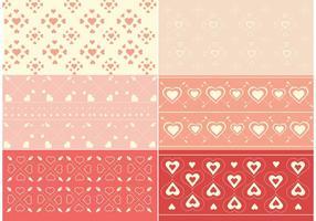 Gratis Vector Valentijnsdagpatroon