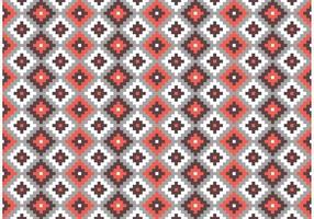Azteekse Maya Primitieve Bakstenen Patroon Vector