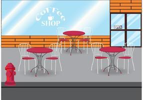 Koffie Winkel Vector