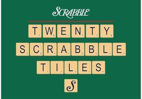 Scrabble Tegels Vector Gratis