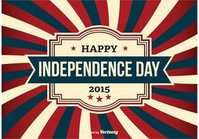 Onafhankelijkheidsdag Vectorillustratie vector
