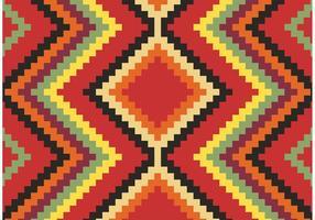 Inheemse Amerikaanse Patroon Gratis Vector