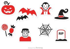 Halloween Vector Pictogrammen
