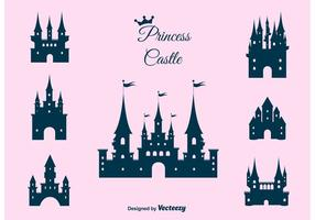 Prinses Kasteel Vector Set