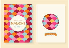 Gratis Retro Magazine Vector Covers