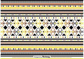 Stijlvolle Folk Ornamenten van het Patroon vector