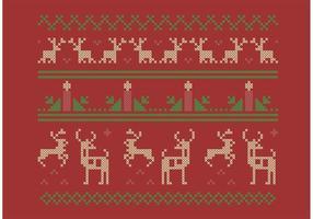 Kruissteek kerst set