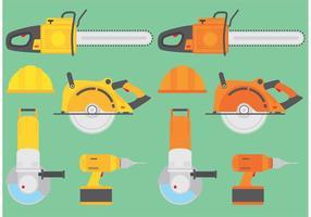 Elektrische gereedschapsvectoren vector
